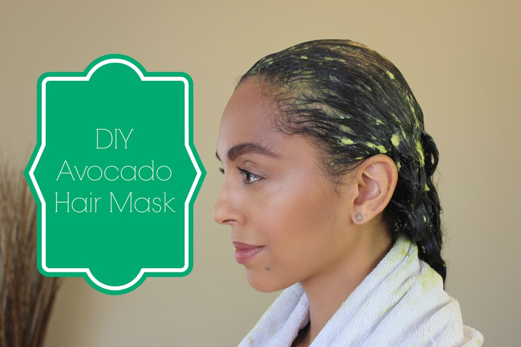 how to make avocado hair mask
