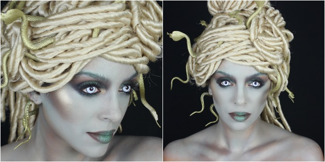 Modern Medusa | Halloween Tutorial – Melting Pot Beauty